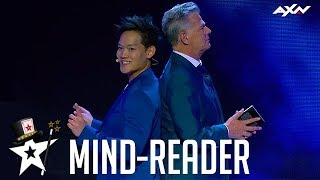 Magician Tricks Audience With Mind-Reading on Asia