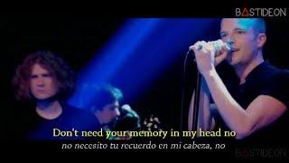 The Killers - Here With Me (Sub Español + Lyrics)