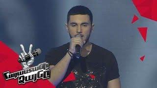 Mnats Khanagyan sings 'Skin' – Gala Concert – The Voice of Armenia – Season 4