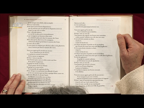 6e dimanche ordinaire A - Evangile