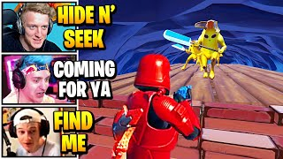Streamers Host ULTIMATE Hide And Seek Game | Fortnite Daily Funny Moments Ep.522