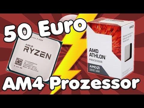 50 Euro Prozessor für RYZEN BOARDS? | Ist es der Athlon X4 950 wert? REVIEW