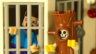 ЛЕГО ТЮРЬМА и Борька ПОЛЕНО - LEGO НУБик Майнкрафт Мультики