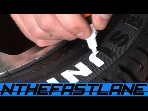 "Tire Lettering Paint ""How To"""