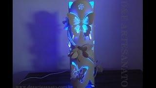 Luminária de PVC com Galho.