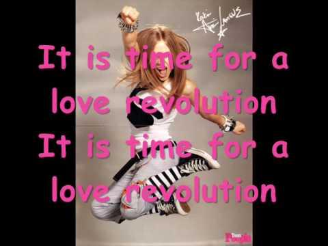 Avril Lavigne - Love Revolution (Lyrics)
