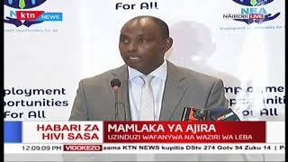 Mamlaka ya Ajira: Uzinduzi wafanywa na waziri wa Leba