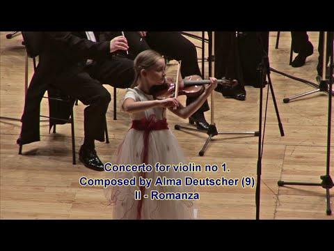 עלמה דויטשר - ילדת הפלא של המוזיקה הקלאסית
