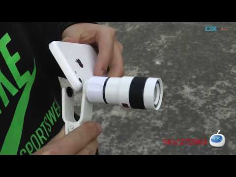 DX: Universal 8X Telescope / Microscope Lens for iPhone