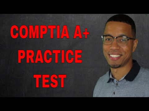 COMPTIA A+ CORE 1 TEST PREP | A+ 220-1001 PRACTICE TEST ...