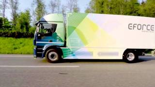 E-FORCE ONE AG - The electric 18t truck in action