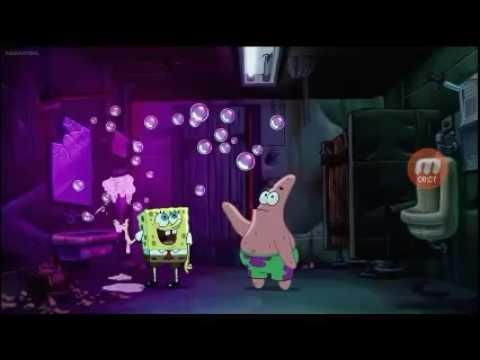 The spongebob squarepants movie  bubble blowing babies