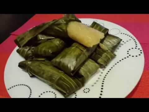 """How To Make """"Suman Malagkit"""""""