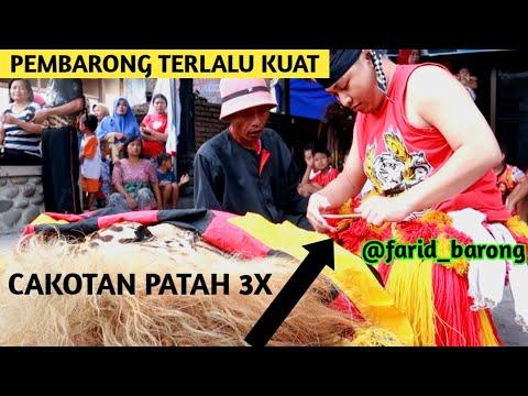 PEMBARONG FARID TERLALU KUAT - CAKOTAN SAMPE PATAH 3X