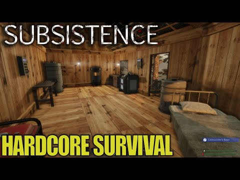 Hidden Gem of a Survival Game | Subsistence | Let's Play Gameplay | E01