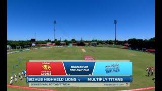 Momentum One-Day Cup | Bizbhub Highveld Lions vs Multiply Titans
