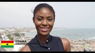 Antoinette Delali Kemavor Contestant from Ghana for Miss World 2016 Introduction