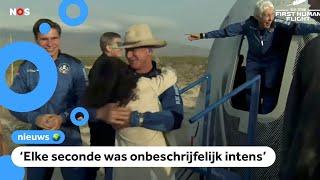 18-jarige Oisterwijker Olivier Daemen met Blue Origin in de ruimte