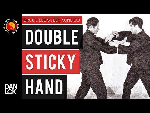 Bruce Lee's JKD Double Sticky Hand Basics Chi Sao