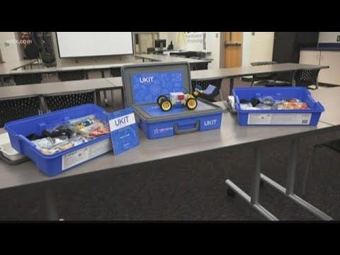Richland Two wins nationwide robotics grants