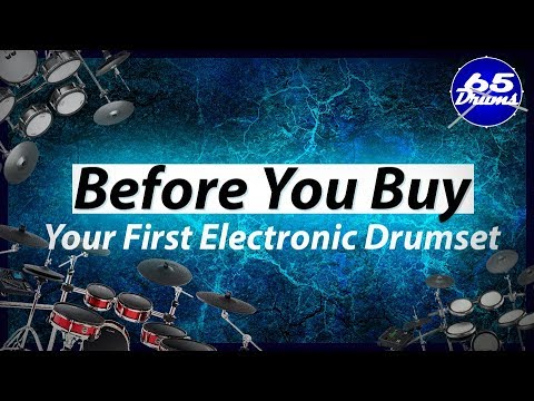 What You Should Know Before Buying Your First Electronic Drumset