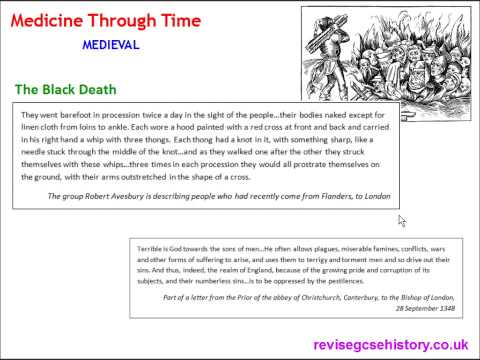 Video Medicine Through Time - Medieval - The Black Death of 1348