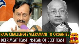Can You Organize Deer Meat Eating Feast Instead of Beef-Eating Feast? - H.Raja Challenges Veeramani