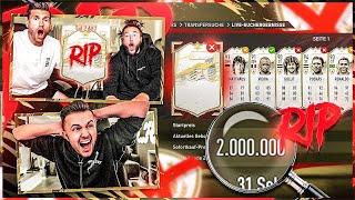 AUA 😩 2 Mio Price Range SCHALLERT REIN .. 💀 ICON DISCARD BATTLE vs GamerBrother !! FIFA 21