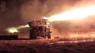 """Залп Градов реактивная артиллерия. Кинокомпания """"ИРБИС"""""""
