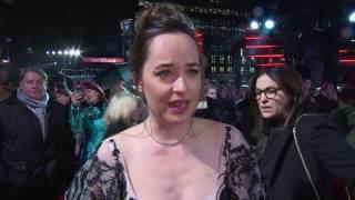 Fifty Shades Darker UK Premiere Interview - Dakota Johnson