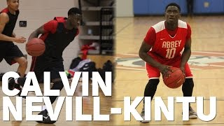 preview picture of video 'Calvin Nevill-Kintu ('97) is TOO NICE! 5'11 Point Guard Runs the Team Like a BOSS!'