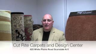 preview picture of video 'Best quality remnants at Cut-Rite Carpets & Design Center Inc., Scarsdale, Westchester, NY'