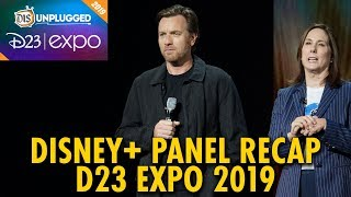 D23 Expo Disney+ Panel Recap | D23 Expo 2019 | Day 1