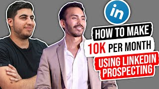 How to Make $10k Per Month Using LinkedIn Prospecting – w/ Robb Quinn