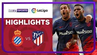 Espanyol 1-2 Atletico Madrid Pekan 4