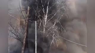 Пожар в Саранске 18.04.2019