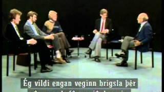 Milton Friedman á Íslandi