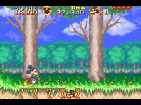 The Magical Quest starring Mickey Mouse Walkthrough