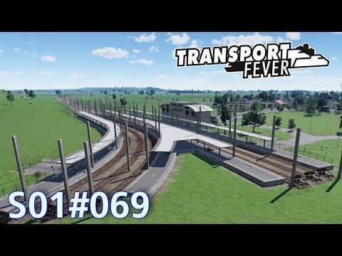 """Transport Fever S01#069 """"Streckenbau richtung Deutschkreuz""""  Let's Play Deutsch HD"""