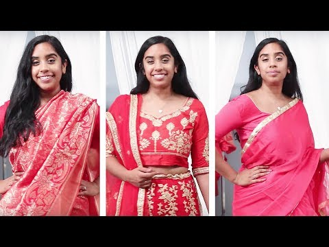 I Try South Asian Wedding Outfits Under $100