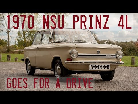 1970 NSU Super Prinz 4L taken for a drive