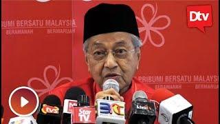 Saya pegang pada janji, tegas Tun Mahathir