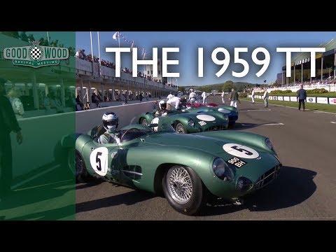 Recreating the greatest race | 1959 RAC TT demonstration at Goodwood Revival
