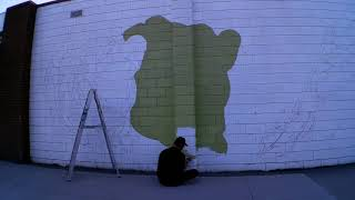 Time Lapse of the Maud St. Mural