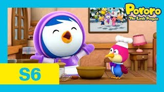 Pororo Season 6   #24 Petty and Harry's Special Cake   Whose cake is better? Petty? or Harry?