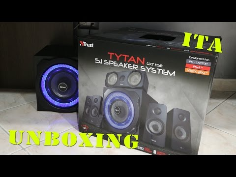 LE NUOVE CASSE GXT 658 !!! (5.1)-(UNBOXING)-(WillyTech)
