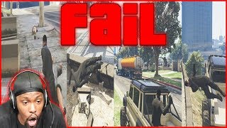 The UGLIEST GTA 5 Mission In History! (GTA 5 Fail Comp)