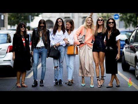 Уличная мода Милана весна-лето 2018 💎 Фото с недели моды, стильные женские луки, модные образы