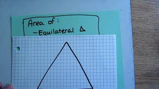 Area Of Regular Polygons (using Special Right Triangles)