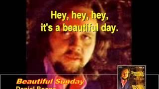 Beautiful Sunday By Daniel Boone   With Lyrics Version